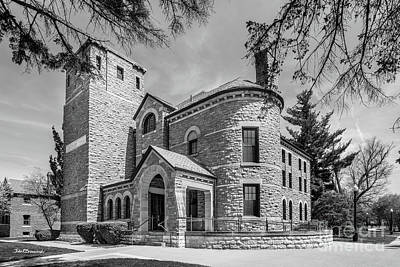 Photograph - Grinnell College Goodnow Hall by University Icons