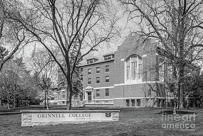 Photograph - Grinnell College Main Hall by University Icons
