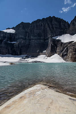 Photograph - Grinnell Glacier In August  by John McGraw