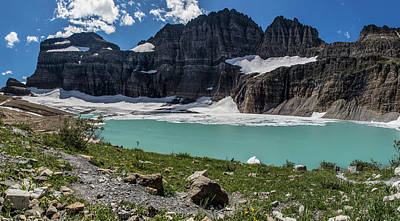 Photograph - Grinnell Glacier Panoramic  by John McGraw