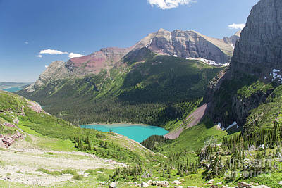 Photograph - Grinnell Lake - Glacier National Park by Jason Kolenda