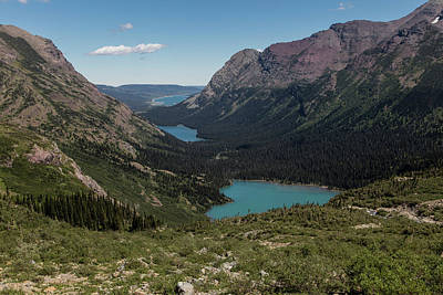 Photograph - Grinnell Lake Glacier National Park by John McGraw