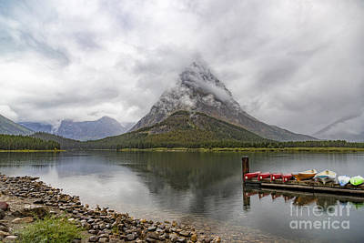 Photograph - Grinnell Point In The Clouds by Jemmy Archer