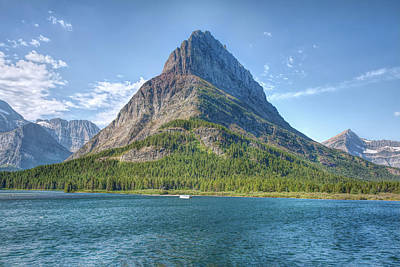 Photograph - Grinnell Point by John M Bailey