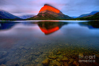 Photograph - Grinnell Point Sunrise Spectacular by Adam Jewell