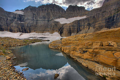 Photograph - Grinnell Pond Ledges by Adam Jewell