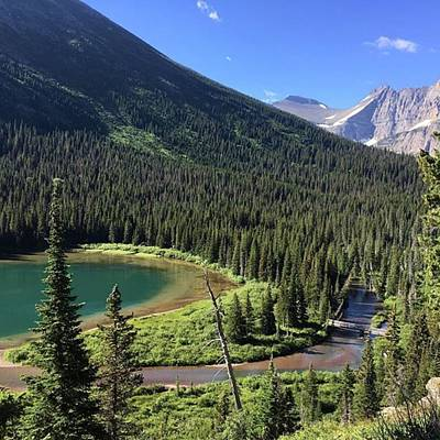 Photograph - #grinnellglaciertrail by Patricia And Craig