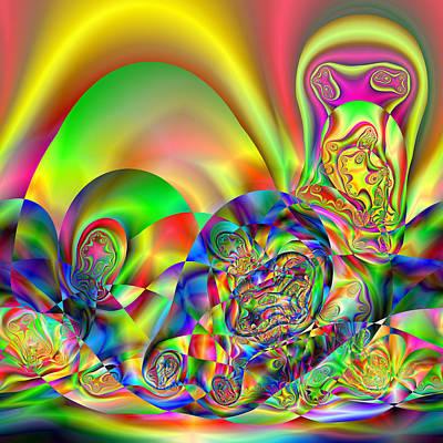 Digital Art - Grinsident by Andrew Kotlinski