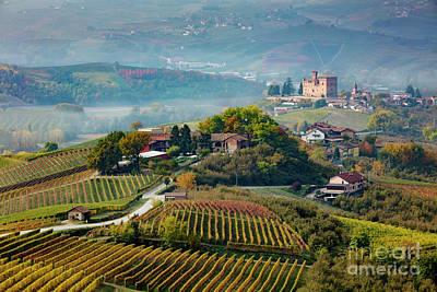 Photograph - Grinzane Cavour View by Brian Jannsen
