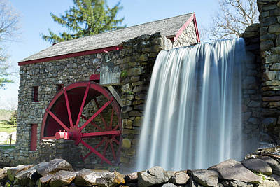 Photograph - Grist Mill 1 by Brian Hale