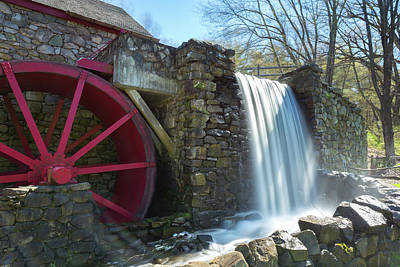 Photograph - Grist Mill 2 by Brian Hale
