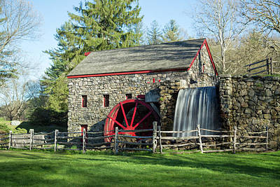 Photograph - Grist Mill 4 by Brian Hale