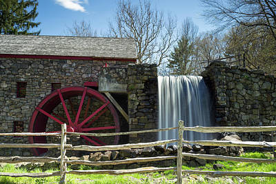 Photograph - Grist Mill 5 by Brian Hale
