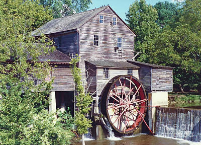 Photograph - Grist Mill Beauty by D Hackett