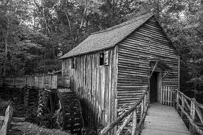 Photograph - Grist Mill by Cathie Crow