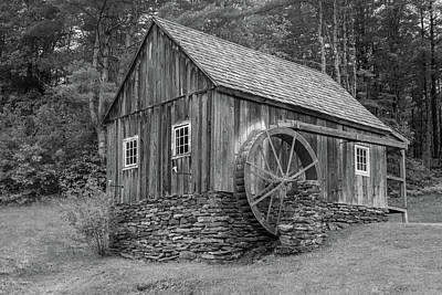 Photograph - Grist Mill by Guy Whiteley