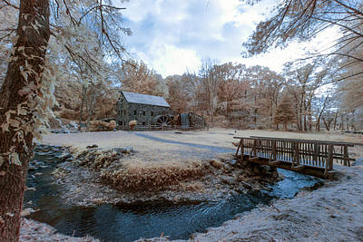 Photograph - Grist Mill In Spring by Brian Hale