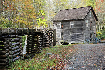 Photograph - Grist Mill by Lamarre Labadie