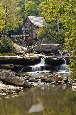 Old Mills Photograph - Grist Mill No. 1 by Harry H Hicklin