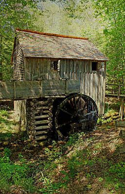 Photograph - Grist Mill by Sandy Keeton