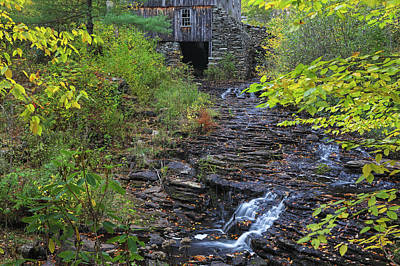 Photograph - Gristmill At Moore State Park by Juergen Roth