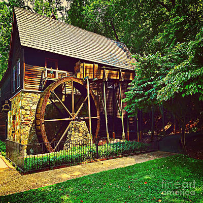 Photograph - Gristmill - Charlottesville Virginia by Judy Palkimas