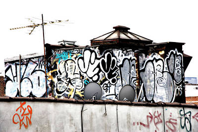 Photograph - Gritty City Graffiti by Cate Franklyn