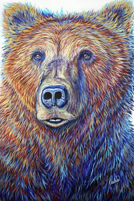 Painting - Griz Visions by Teshia Art