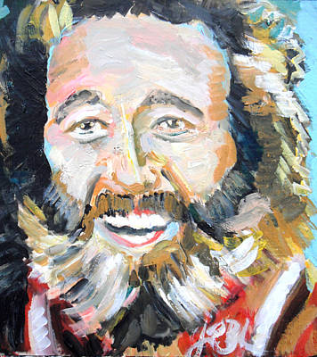 Adam Baldwin Painting - Grizzly Adams  by Jon Baldwin  Art
