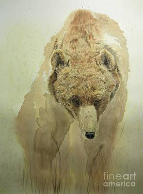 Painting - Grizzly Bear1 by Laurianna Taylor