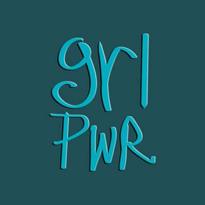 Drawing - Grl Pwr by Bill Owen