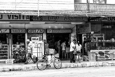 Photograph - Grocery Shopping In Bocas Toro by John Rizzuto