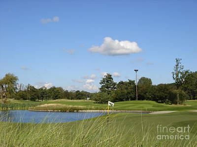 Groendael Golf The Netherlands Art Print by Jan Daniels