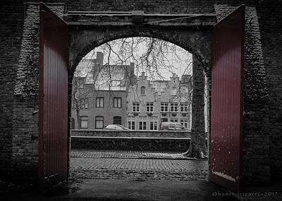 Photograph - Grootseminarie Brugge by Henri Irizarri