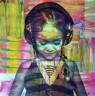 Painting - Groove Girl by Dean Russo Art