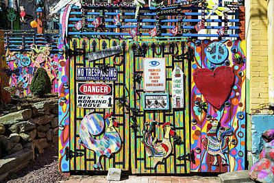 Photograph - Groovy Signs by Stewart Helberg