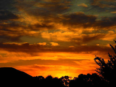 Photograph - Groovy Sunset by Mark Blauhoefer