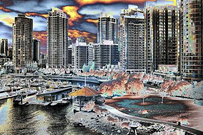 Photograph - Groovy Vancouver by Bill Kellett