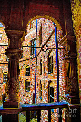 Photograph - Gropsholm Slot Arches by Rick Bragan