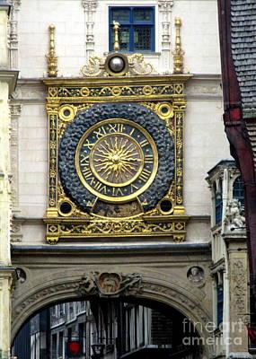Photograph - Gros Horloge 2 by Randall Weidner