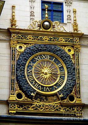 Photograph - Gros Horloge 4 by Randall Weidner