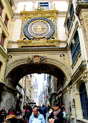 Photograph - Gros Horloge 7 by Randall Weidner