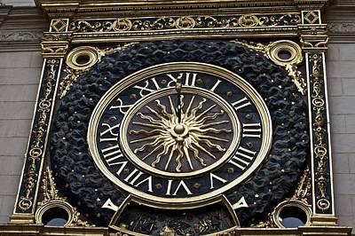 Photograph - Gros-horloge by Eric Tressler