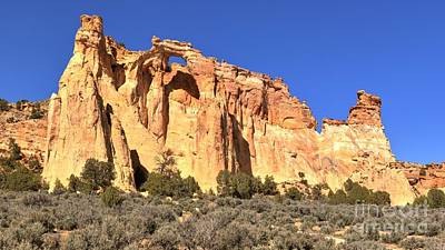 Photograph - Groscenor Double Arch Panorama by Adam Jewell