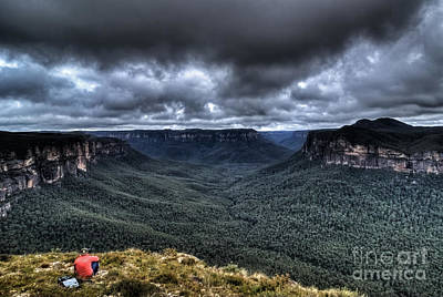 Photograph - Grose Valley The Blue Mountains Australia by David Iori