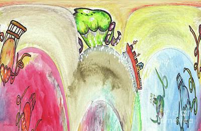 Grosse Vague / Big Wave  Art Print