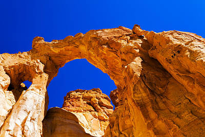 Escalante Photograph - Grosvenor Arch by Chad Dutson