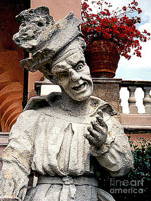Photograph - Grotesque Statue - A Museum In Itay by Merton Allen