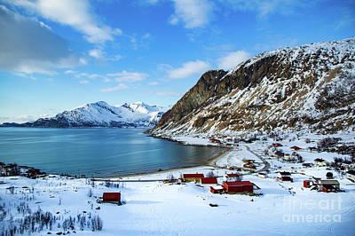 Photograph - Grotfjord Norway by Mariusz Czajkowski