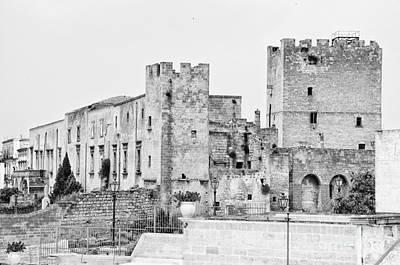 Photograph - Grottaglie Castle by Leonardo Fanini